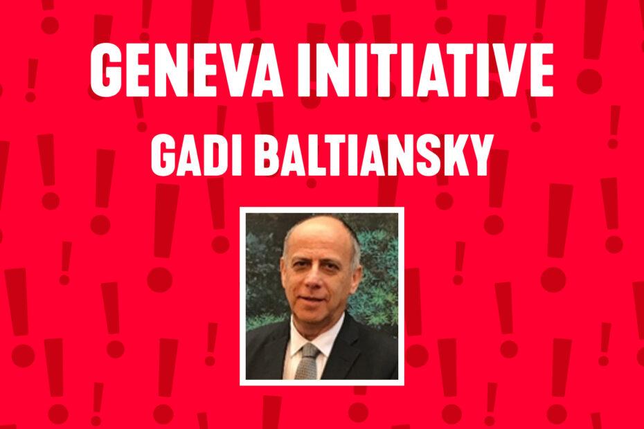 Nytt webbinar 20 april: Tvåstatslösningen med Genèveinitiativet